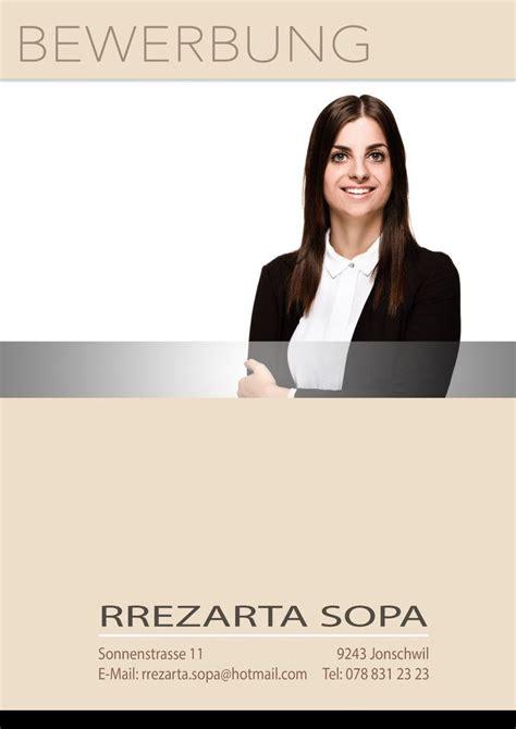 Deckblatt Vorlagen Modern Bewerbung Bewerbungsbilder Businesse Deckbl 228 Tter Bewerbung