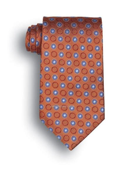 wolfmark ellison bay polyester tie orange china