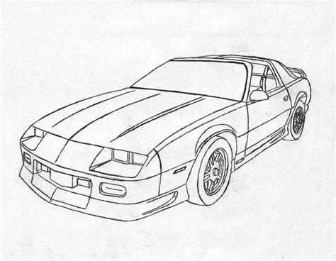 Free Coloring Pages Of New Camaro Camaro Coloring Page
