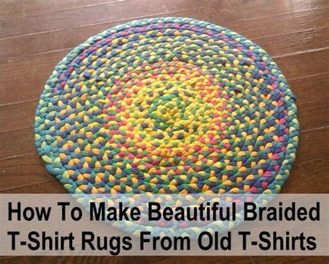 How Do I Make A Braided Rug by How To Make Beautiful Braided T Shirt Rugs For Nothing