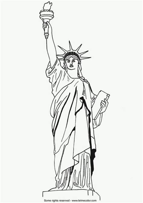 Coloriage Statue De La Libert 233 Img 9790 Statue De La Liberte Coloriage L