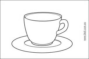 tea cup template free tea cup template coloring pages
