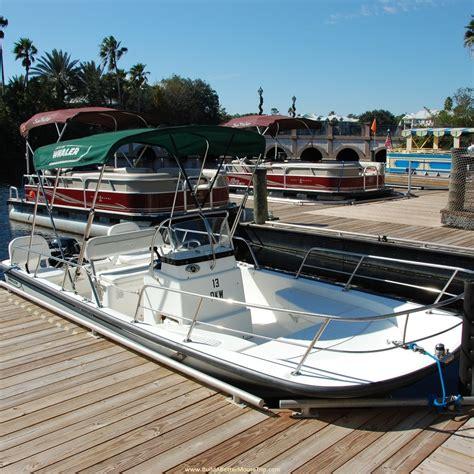 boating at disney world build a better mouse trip - Disney Boat Rental