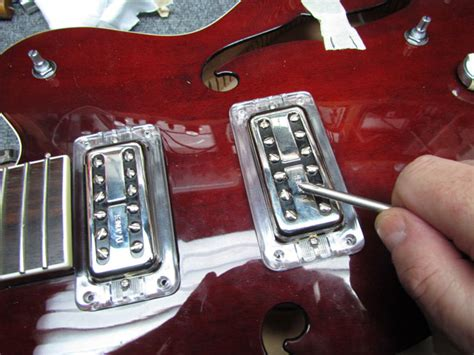 gretsch  upgrades tv jones pickups  wiring