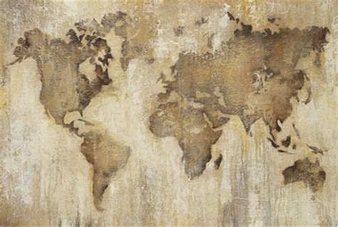 vintage world map map3