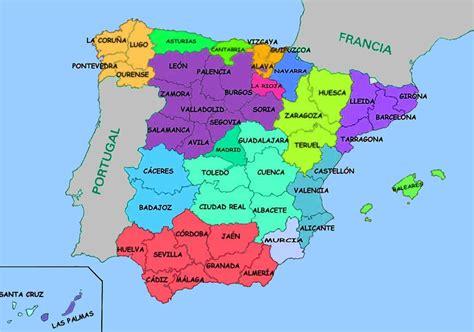 Coloriage Carte Espagne 224 Imprimer