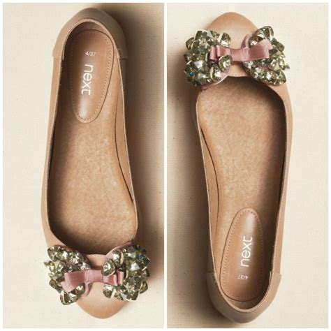 next flat shoes shoe of the week next embellished flats