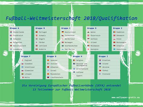 wann ist die wm 2014 fussball weltmeisterschaft 2018 russland qualifikation