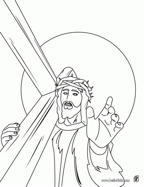 crucifixion coloring pages az coloring pages