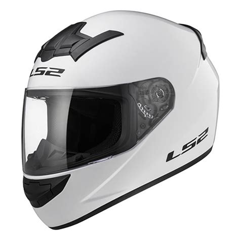 Helm Thi Rookie Solid helm ls2 ff352 rookie solid gloss white helm ringan tali dd ring harga