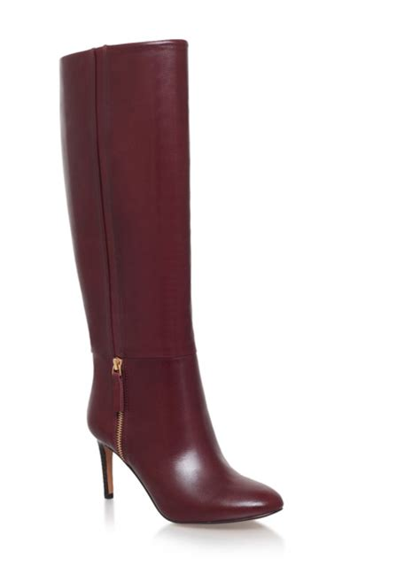wine boots two pairs of wine knee boots gt shoeperwoman
