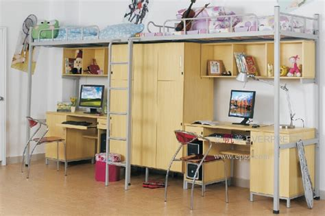 bunk bed computer desk bunk bed with computer desk college loft bed steel