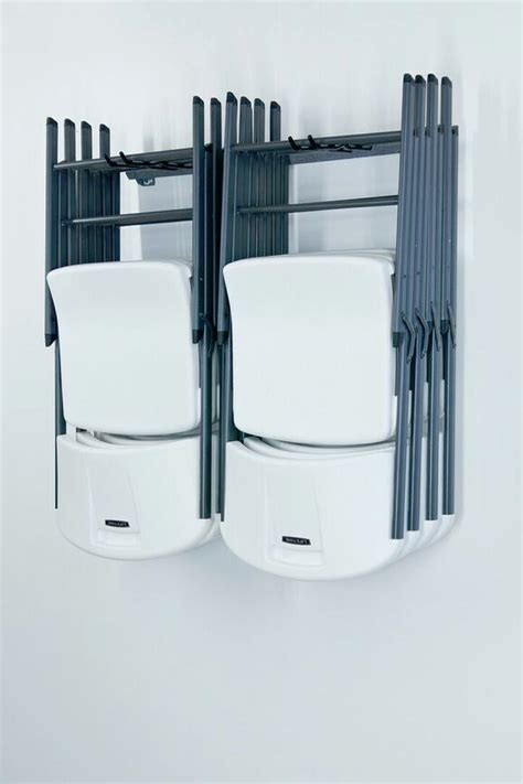 Chair Racks For Folding Chairs by Folding Chair Storage Rack