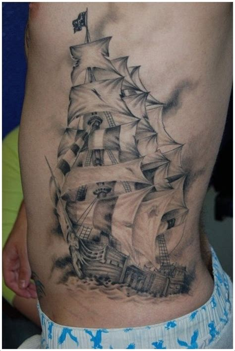 yacht tattoo designs 100 cool nautical ideas for sea