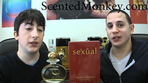 scentedmonkey sexual michael germain women perfume review