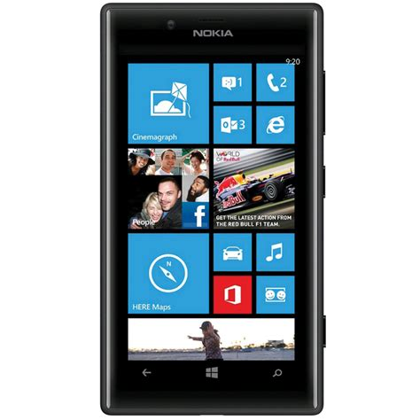 Nokia Lumia Rm nokia lumia 720 rm 885 8gb smartphone unlocked black