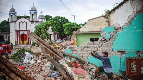 earthquake news unusual mexico earthquake may have relieved stress in