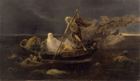 la puerta de caronte personajes de la mitolog 237 a caronte el barquero del infierno el pensante