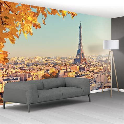 Wall Murals Eiffel Tower 1wall Eiffel Tower Cityscape Mural Wallpaper 366cm X 232cm