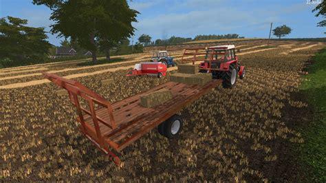lizard 20 foot bale trailer ls 2017 farming simulator