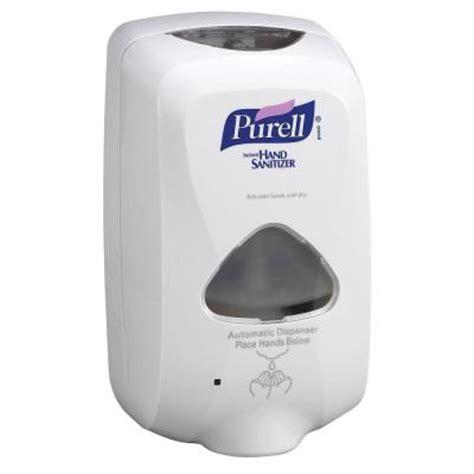 gojo tfx touch free foam sanitizer dispenser