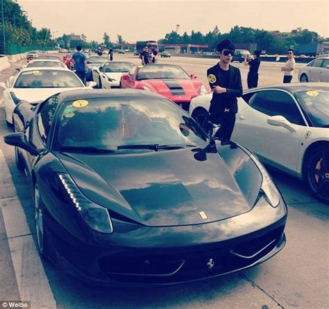 china cracks on its partying driving fuerdai rich daily mail