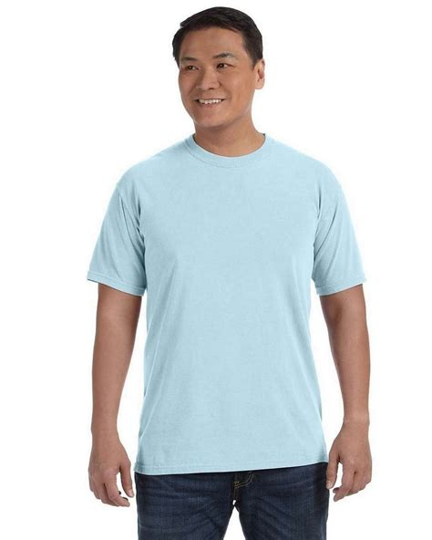 comfort colors chambray comfort colors c1717 ringspun garment dyed t shirt