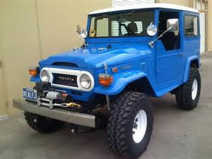 Jeep Toyota Land Cruiser Blue Fj40 Toyota Landcruiser Quot Jeep Quot Toyota Land Cruiser