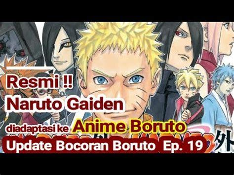 film naruto gaiden sub indo boruto episode 19 sub indonesia update manga gaiden 1