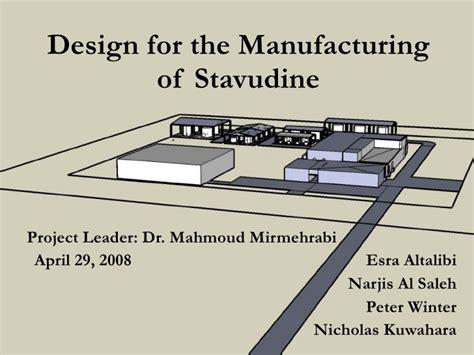 design for manufacturing slideshare final design presentation