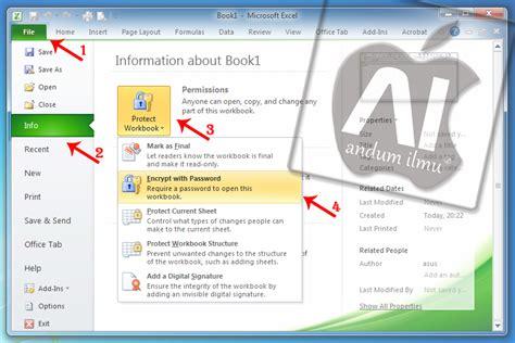 cara tutorial excel 2010 andum ilmu 2 tutorial ms excel 2010 cara membuat
