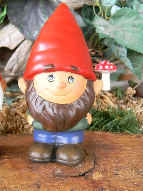 lawn gnome garden gnome ceramic mr gnomer lawn garden or home gnome