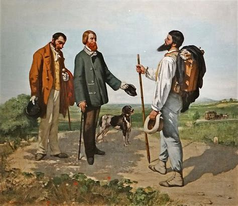 courbet biography artist gustave courbet biography museums mornings and signs