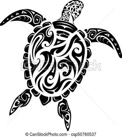 tortue tatouage style maori ethnique vecteurs search