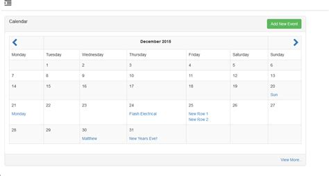 codeigniter calendar how to get multiple events per day