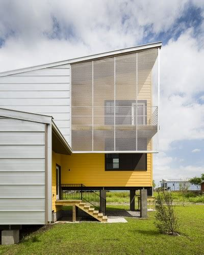 Brad Pitts No Housing Efforts Lower 9th Ward In The Pink by Make It Right Homes In Nola Archdaily