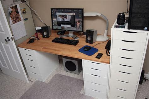 ikea cabinet desk ikea cabinet desk build electronics workbench pinterest