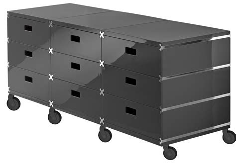Storage Units With Drawers On Wheels Plus Unit Storage 9 Drawers On Wheels Grey With