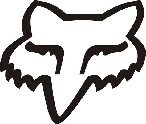 fox motocross logo fox logo coloring pages