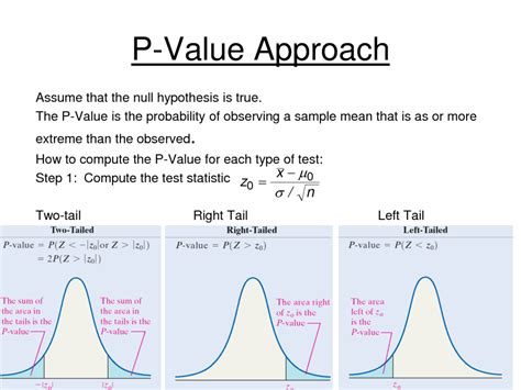 p value quality in manufacturing processes