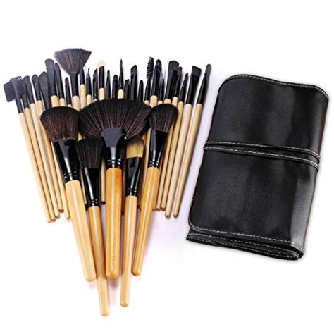 Make Up Brush Set Mac 32pcs bestope 32pcs professional makeup brushes set synthetic