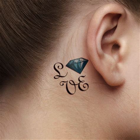 love tattoo on ear famous person 21 behind the ear tattoo ideas
