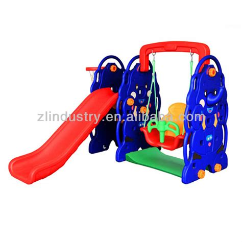 plastic swing and slide plastic swing and slide combination for children buy