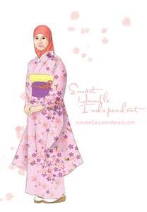 tutorial hijab syari kartun kartun hijab syar i nurul safura