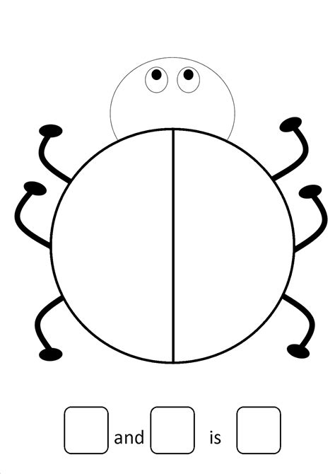 blank ladybug template ladybird templates for cake ideas and designs