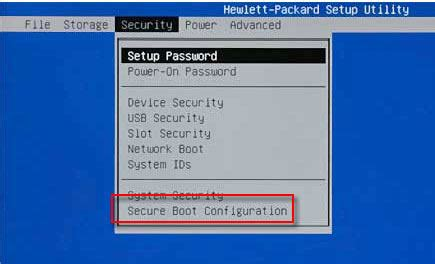 how to change boot order on hp desktop/laptop
