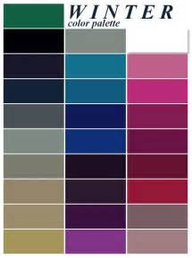 cool winter color palette winter my style winter winter colors and