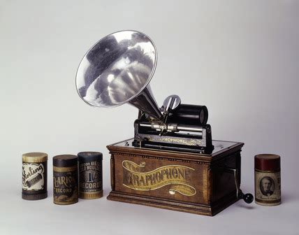 wax cylinder wax cylinder gramophone 19th century by columbia