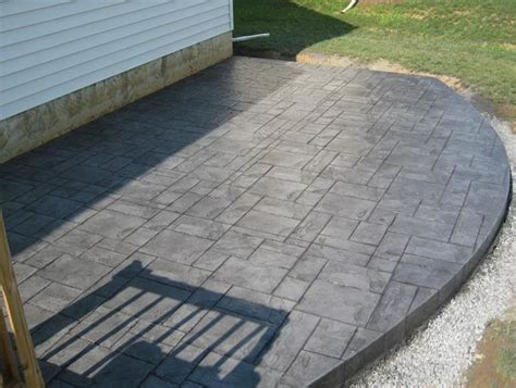wood grain stamped concrete patio   Google Search   Patio