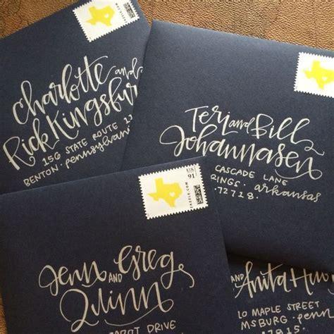 25  best Wedding invitation envelopes ideas on Pinterest